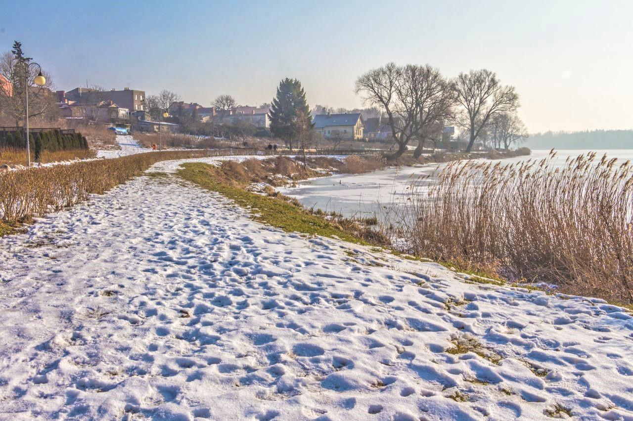 W poszukiwaniu śniegu w Złotowie