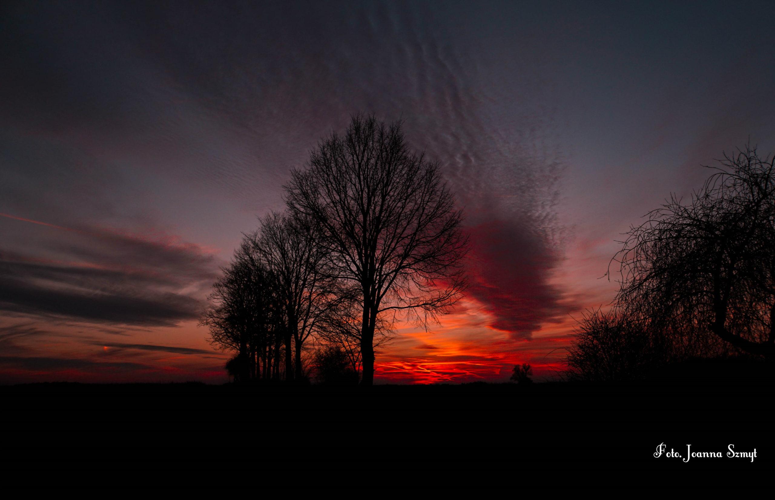 Moje magiczne niebo.